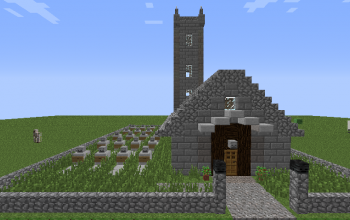 Church With Cemetery [Updated for 1.7]