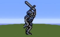 Armored Skeleton with sword Castlevania 3