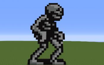 Skeleton from Castlevania 2