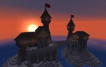 Medieval Castle Island