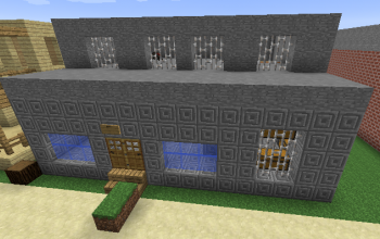 small bank with vault
