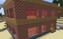 boring brick building