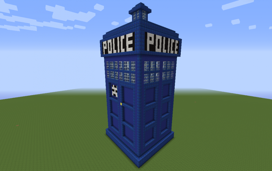 TARDIS, creation #3110