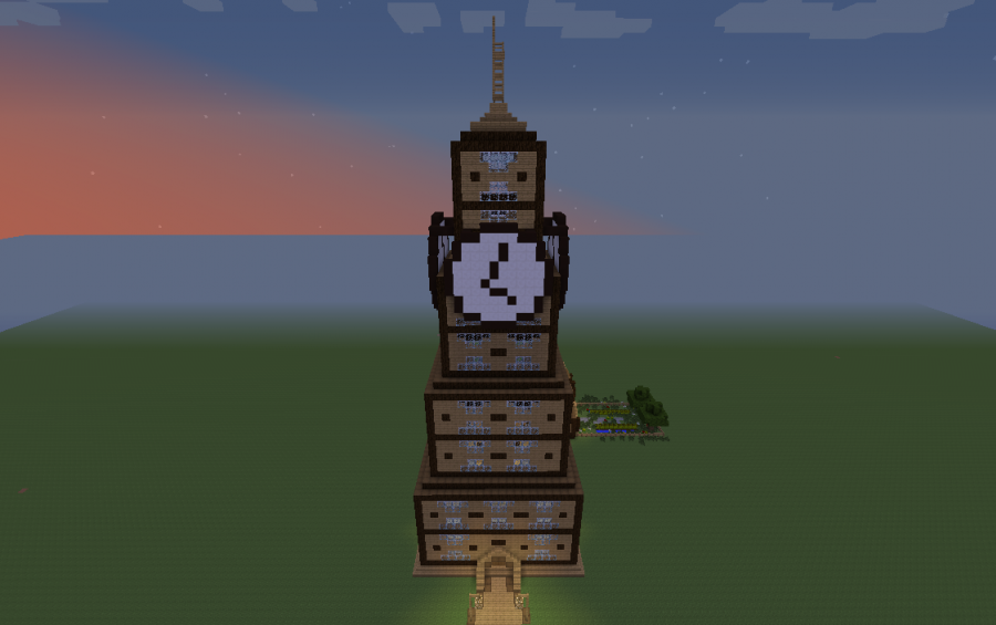 Clock Tower Creation 3111