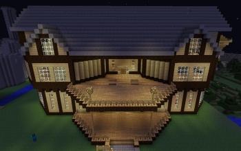 Modern mansion Updated!