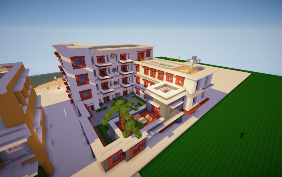Apartment Building Minecraft