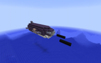 Submersible Torpedo Airship - Minnow Mk II