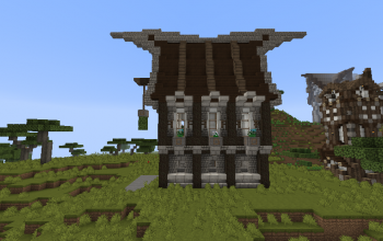 Nordic Medieval house