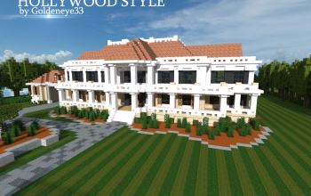 Hollywood Style Mansion   by Goldeneye33