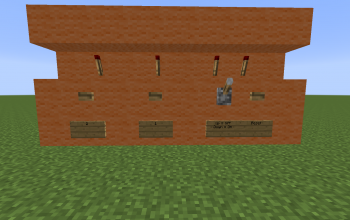 Redstone User Control Panel