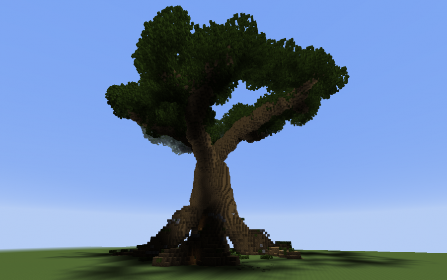 Giant Tree With A House Creation 3253