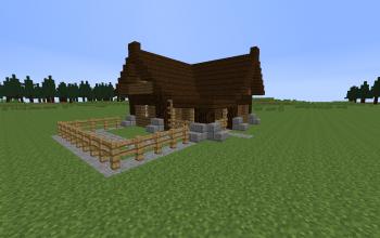 Medieval farmer house