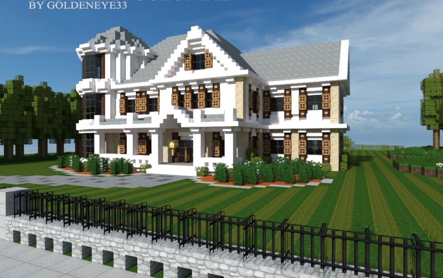Southern Colonial by Goldeneye33 creation 3302