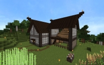 Tudor Style House with Hayloft and Stables