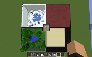 PvP Arena with 4 Biome