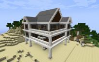 Coloniel house on pillars