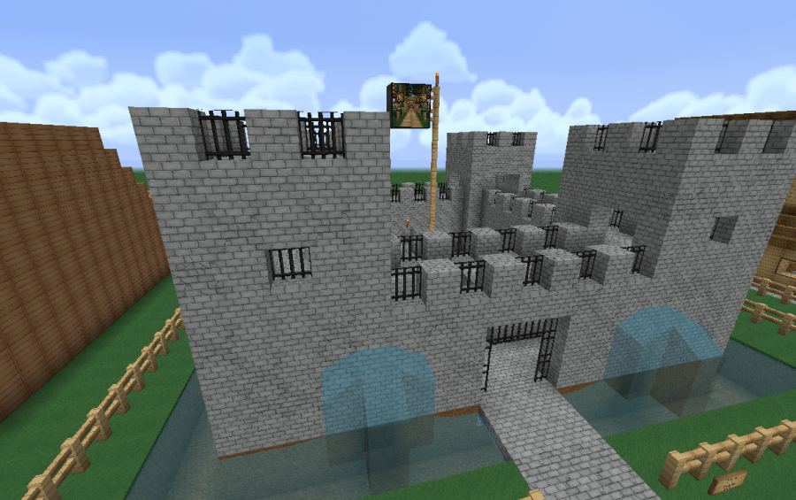 Small Medieval Castle creation 346