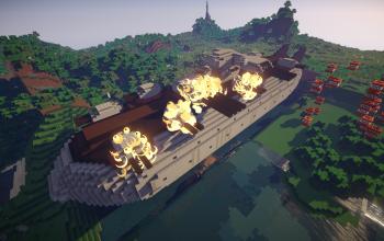 Super Battleship Goliath for Movecraft