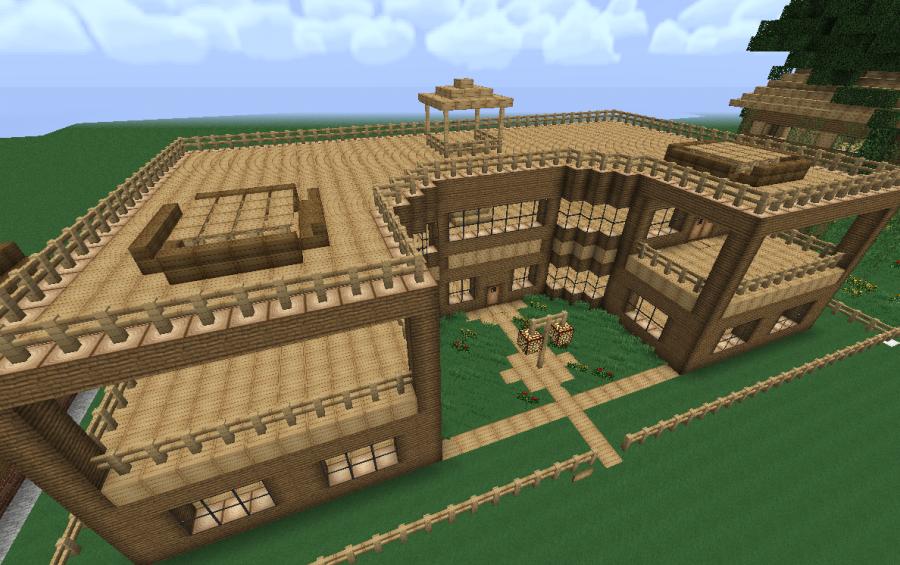 Mansion Of Wood Creation 348
