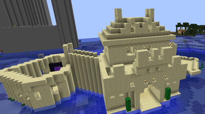 Sand Castle, creation #35