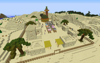 Middle Eastern Village
