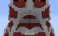 Attack on Titan Colossal Titan head