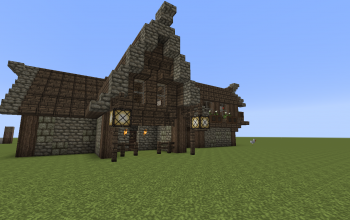 Medieval House Abstract