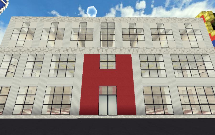 Modern Hospital | 1 7 2, creation #3617
