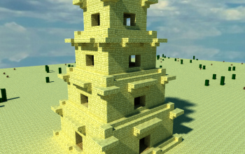 Egyptian Tower By JJcash