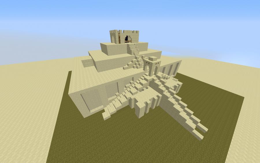 mesopotamian ziggurat creation 3735