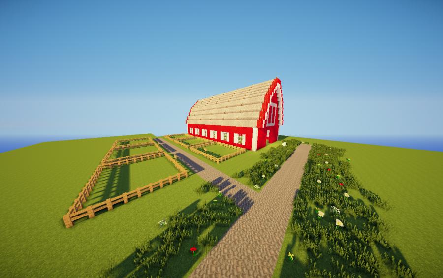 Animal Barn Creation 3753