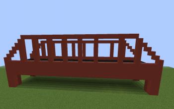 Red road bridge
