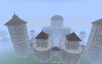 Large unfinished Castle