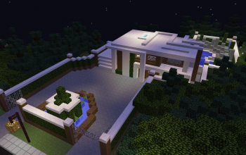 Modern Spruce house