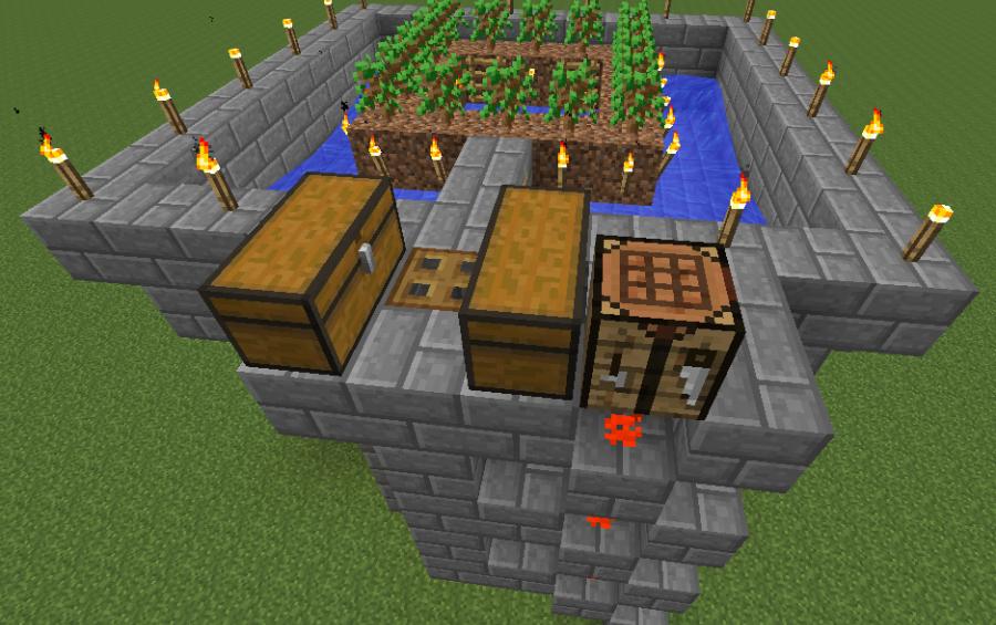 Semi Automatic Simple Tree Farm Creation 3900