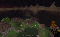 Huge Village MineCraft