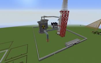 Nuclear Missile Base w/ Reactors