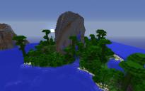 Jungle Island Volcano