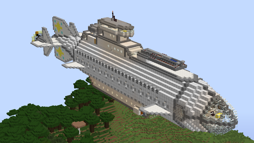 Nimbus Mk.1 Airship, creation #3952 on