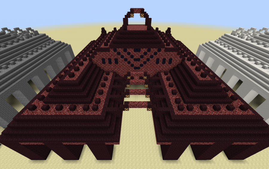 Sea Temple Nether Creation 3956