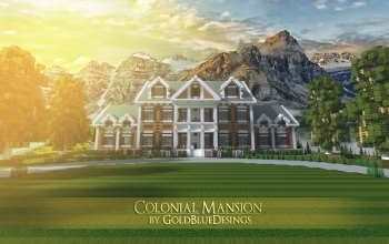Colonial Mansion 1 | Architecture