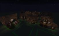 Minecraft Gothic House