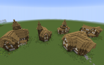 Minecraft Gothic House v2