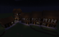 Medieval Gothic Winter Village Houses Template by.AlterEdo