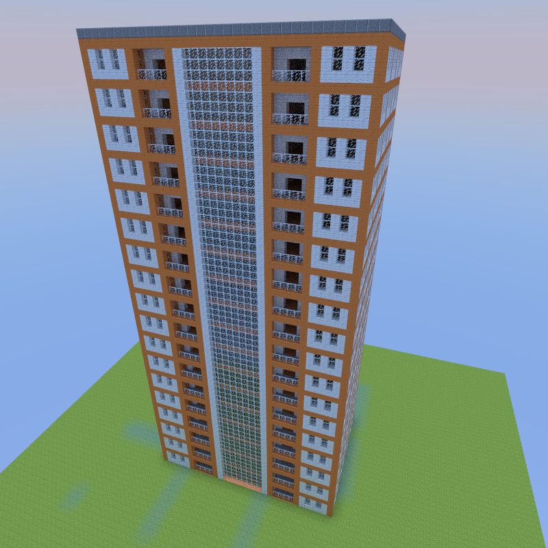 Apartment Building By Jjcash Creation