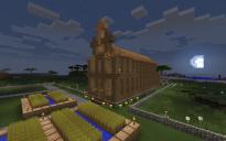 Village Church w/Graveyard