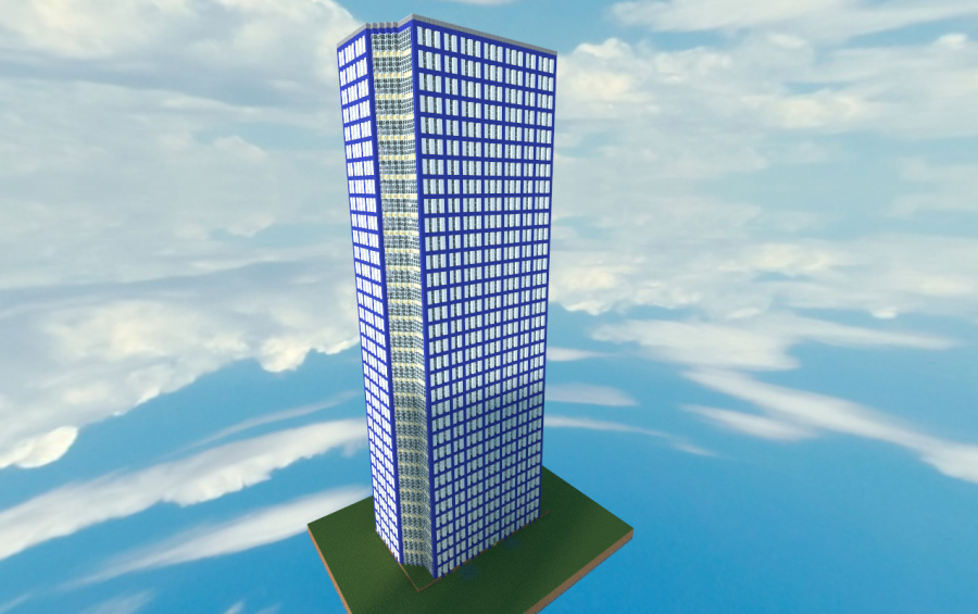 apartment building 2 by jjcash - Apartment Building In Minecraft