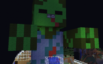 Small zombie pixelart