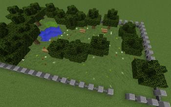 Minecraftia City Park