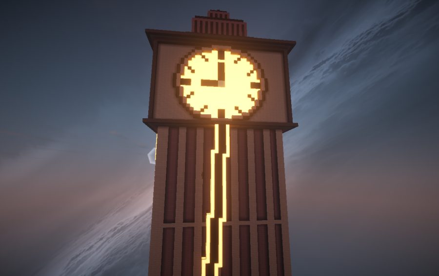 Sky Clock Tower Creation 4159